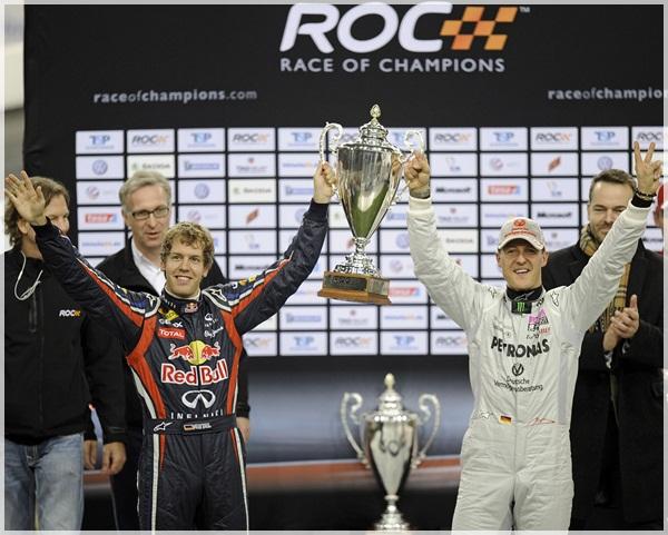 Những hình ảnh đẹp từ Race of Champion 2011 (kèm video)