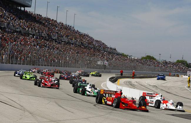 Giải đua Indycar công bố lịch thi đấu năm 2012